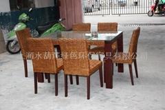 水葫芦餐桌椅系列
