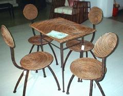 水葫蘆休閑桌椅