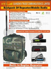 UHF BACKPACK OF REPEATER TC-BTX888