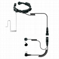 Throat Control Microphone For Two-way
