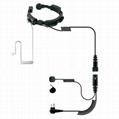 对讲机喉控耳机会TC-324-