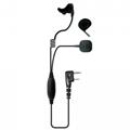 Bone Microphone For Two Way Radio
