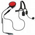 Bone Microphone For FM Transceiver