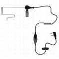 透明管对讲机耳机TC-802