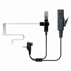Transparent Tube Earphone For FM Transceiver TC-807-1
