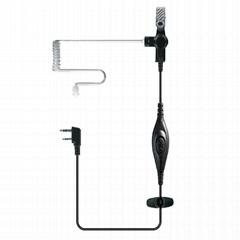 透明管对讲机耳机 TC-P01A0