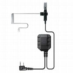 透明管对讲机耳机 TC-P02A0