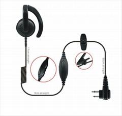 Earhook Earphone For Two Way Radio TC-616