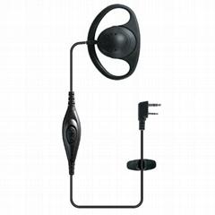 Ear Hook Earphone For Two Way Radio TC-P01H0