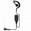 Ear Hook Earphone For 2Way Radio