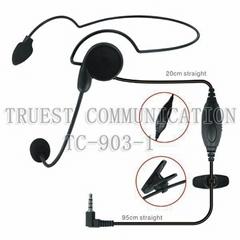 头戴式对讲机耳机TC-903-1