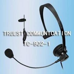 头戴式对讲机耳机TC-902-1
