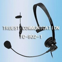 Adjustable Metal Headphone For Walkie Talkie TC-902-1