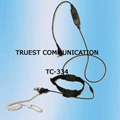 Throat Control Earphone For Two Way