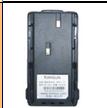 Portable Two Way Radio battery TCB-KB30A For Kirisun PT2208,PT3208,PT3308