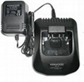 Professional radio battery charger for