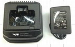 Two way radio battery charger for Yeasu/Vertex TCC-V20