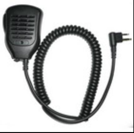 Professional Walkie Talkie Speaker &Microphone TCM-H06M 1