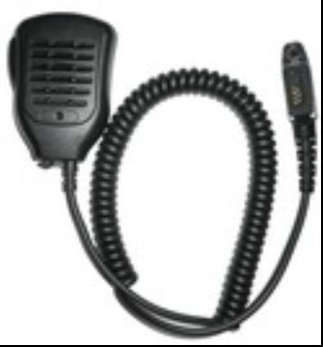 Portable Radio Speaker&Microphone TCM-H06Z 1