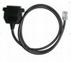 Programmablce cable for motorola radio TCP-M4063