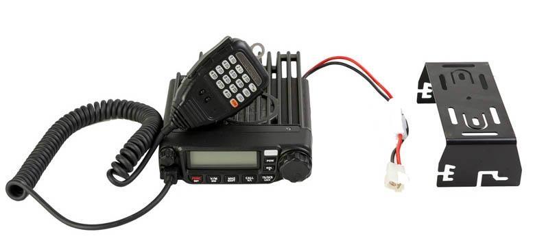 60W VHF,UHF Mobile Radio  TM-8600 6