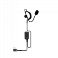 Ear Hook Earphone For Two Way Radio