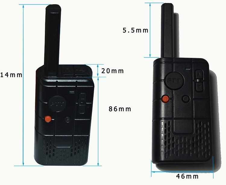 2W Mini UHF Ham radio TC-MN01  6