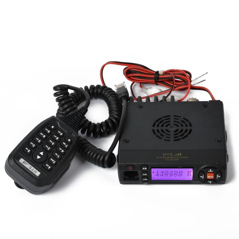 10W Mini VHF& UHF Dual Band Mobile Radio TC-M10W  4