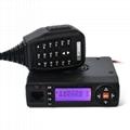15W Mini VHF& UHF Dual Band Mobile Radio TC-M10W  3