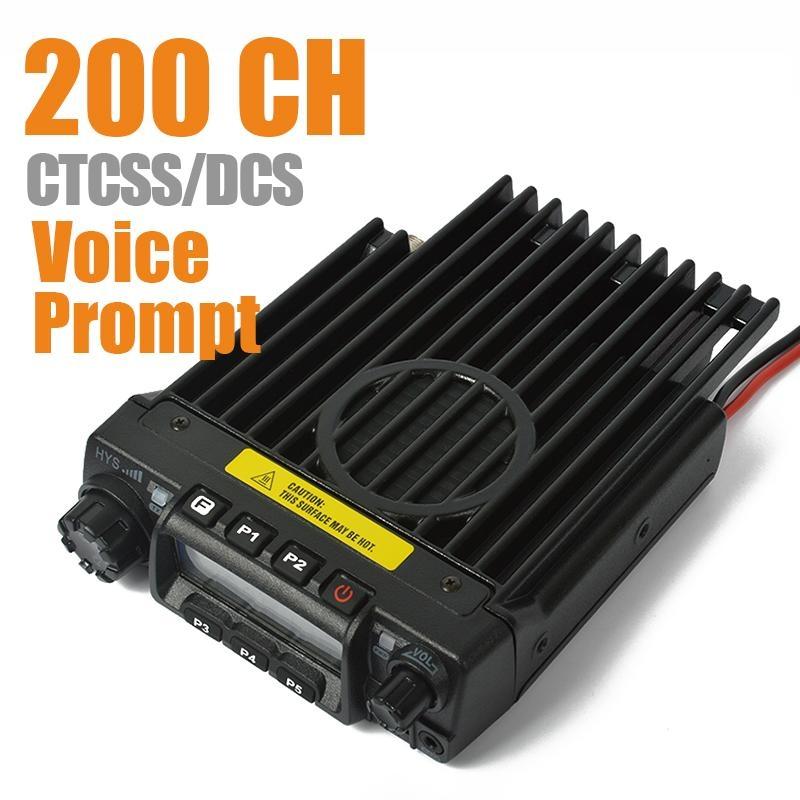 VHF/UHF 車載對講機TC-135 2