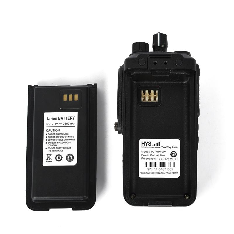 10W VHF or UHF Professional Fm Transceiver TC-WP10W 8