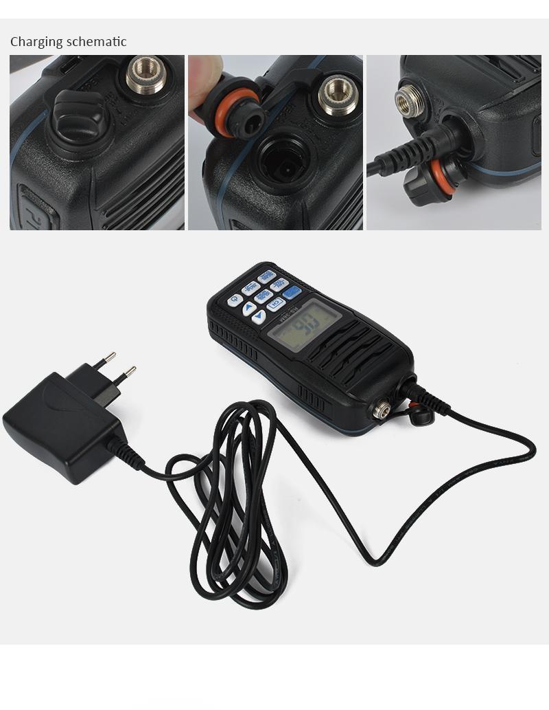 VHF Marine Portable Radio TC-36M  9