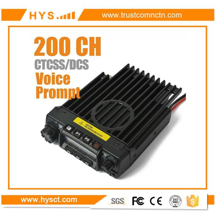 VHF/UHF 車載對講機TC-135 1
