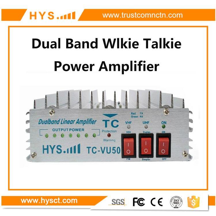 Dual band Portable radio  Amplifier TC-VU50 1