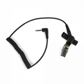 Only Listen Earphone For Two Way Radio TC-617-1N 8