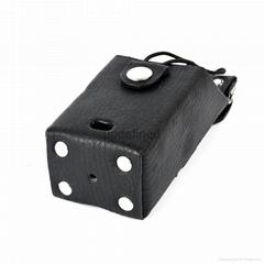 馬皮革對講機皮套適用於無鍵盤對講機 TCD-T102