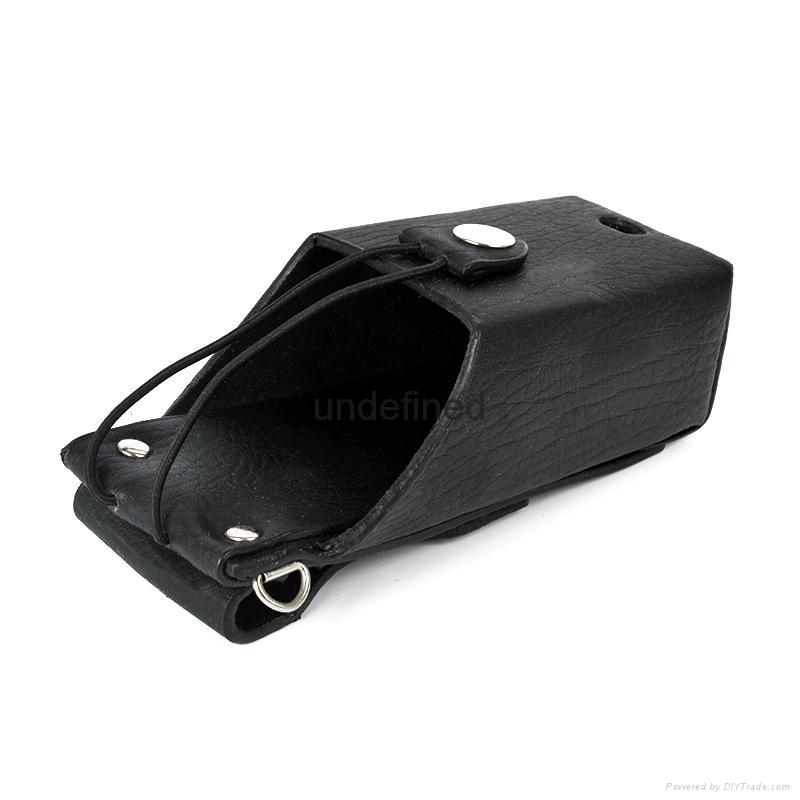 馬皮革對講機皮套適用於無鍵盤對講機 TCD-T102 5