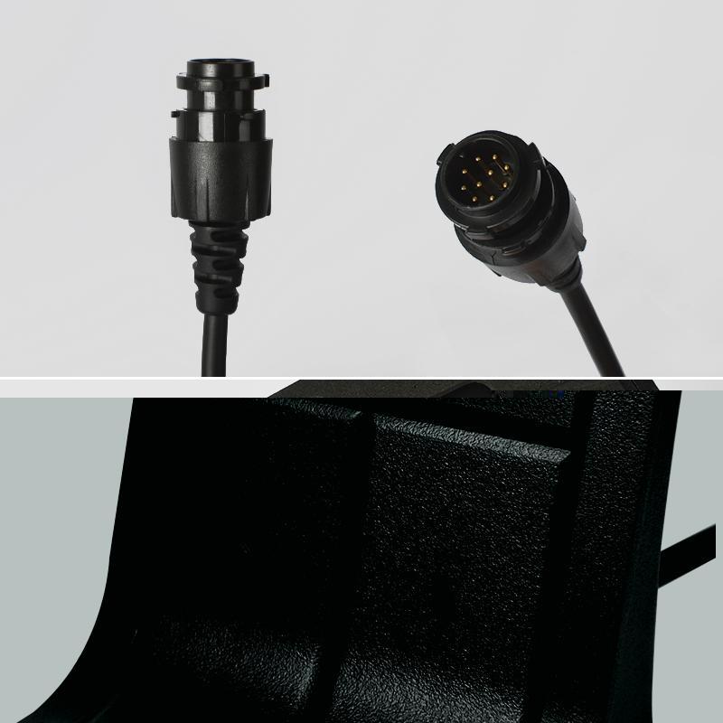 Professional Walkie Talkie Speaker &Microphone TCM-M5050 5
