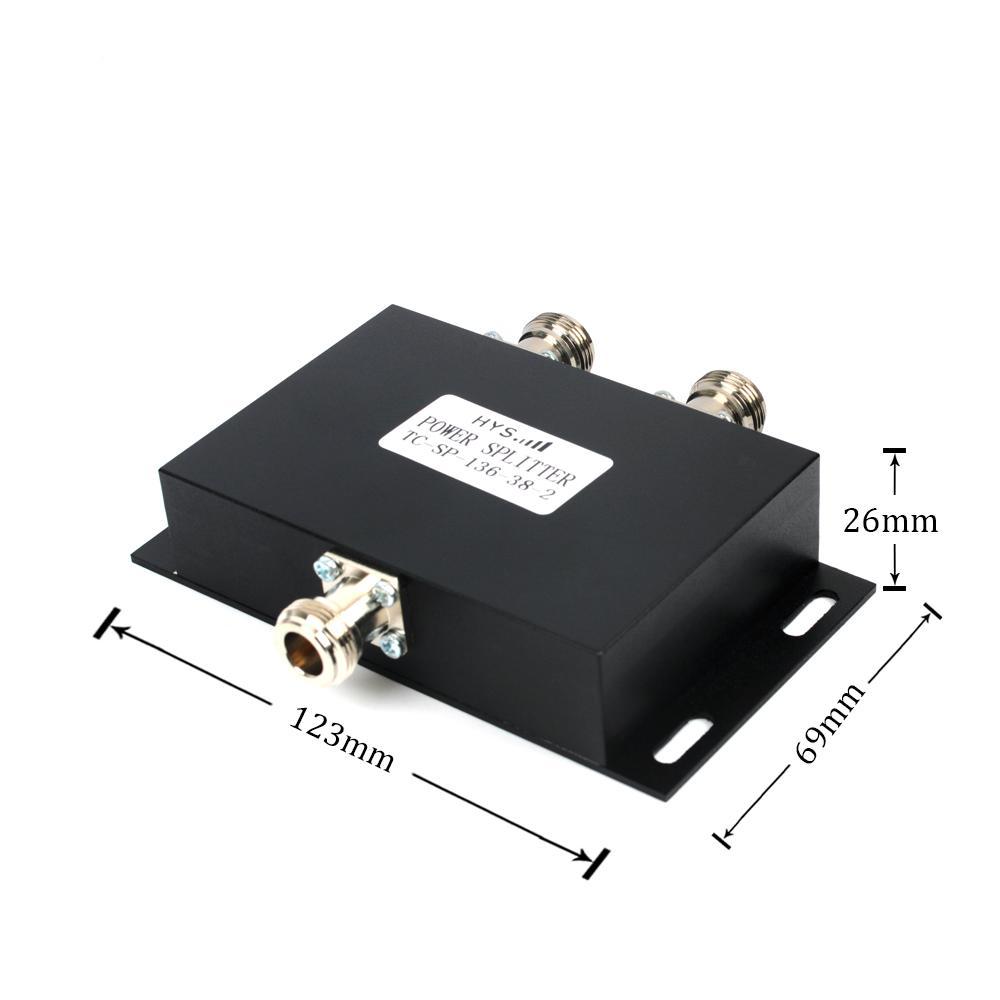 2-Way VHF 136-174MHz antenna power splitter TC-SP-136-38-2  6