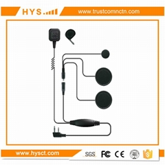 Motorcycle Headset For Walkie Talkie TC-F01M01