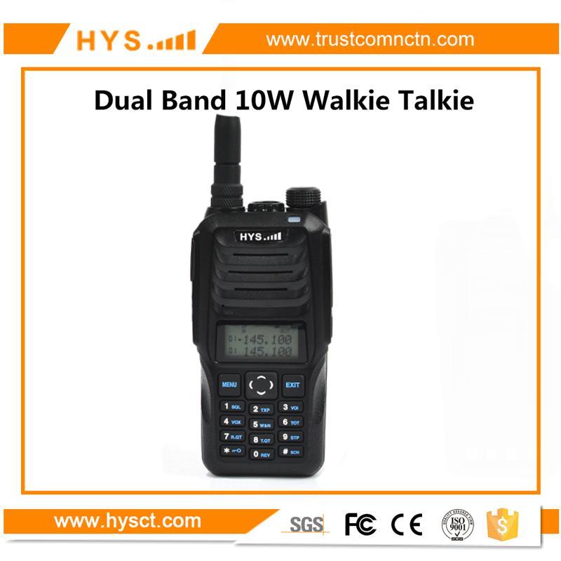 Handheld Dual band 10W Walkie Talkie  1