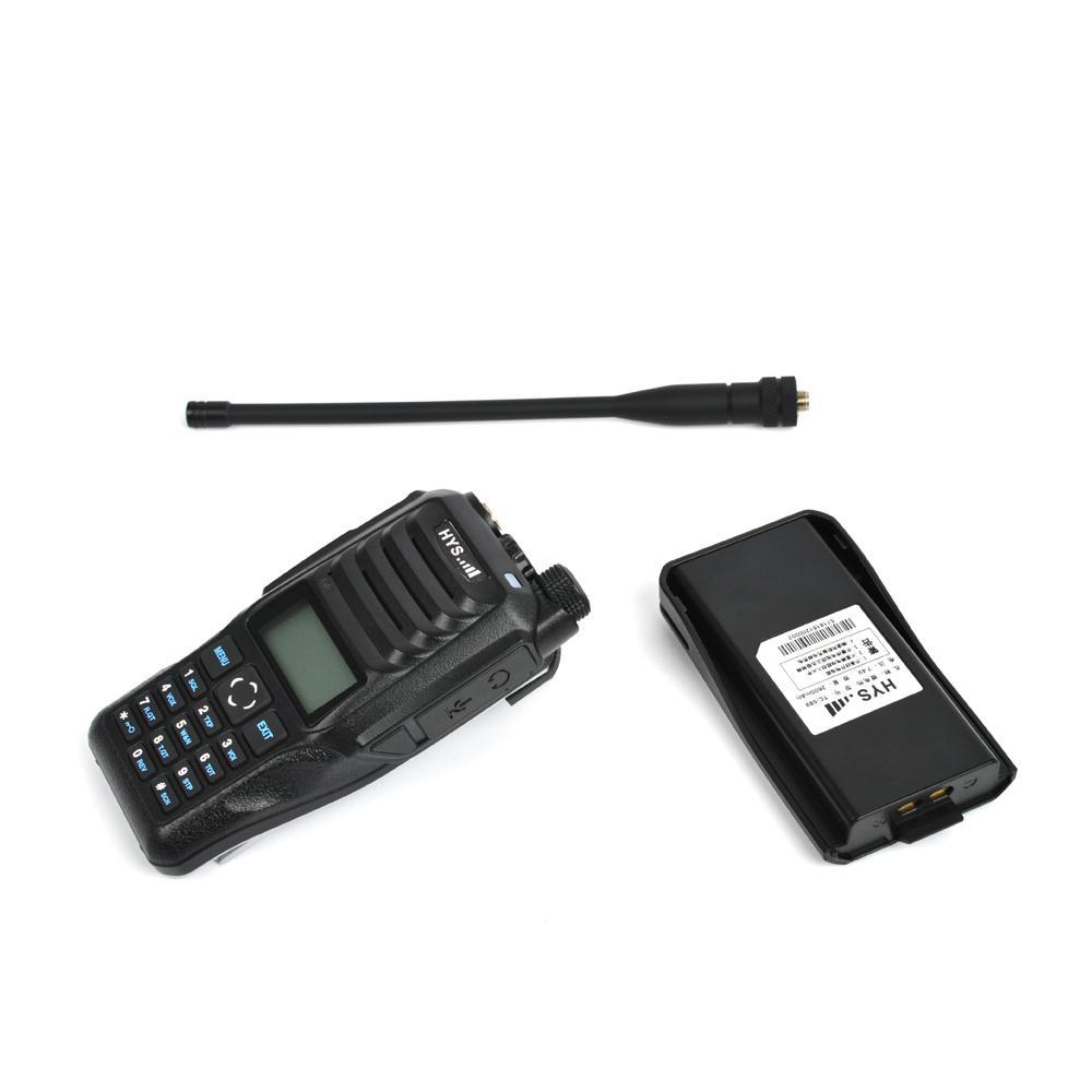 Handheld Dual band 10W Walkie Talkie  4