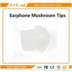 Mushroom Ear tip for Audio Tube Type Earphone