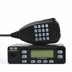 Mini 25W Dual Band Mobile radio TC-898UVS
