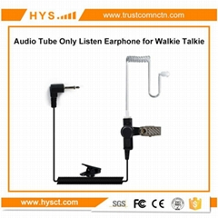 Only Listen Earphone For Two Way Radio TC-617-1N