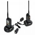 GPS Dual Band 10w Two Way Radio 7