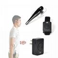 Bluetooth Acoustic Tube Earpiece Headset For Two Way Radio Baofeng Kenwood TK  13