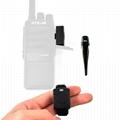 Bluetooth Acoustic Tube Earpiece Headset For Two Way Radio Baofeng Kenwood TK  9