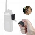 Bluetooth Acoustic Tube Earpiece Headset For Two Way Radio Baofeng Kenwood TK  18