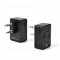 Bluetooth Acoustic Tube Earpiece Headset For Two Way Radio Baofeng Kenwood TK  4